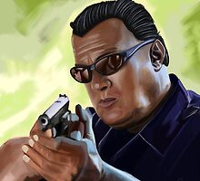 Steven Seagal by Richard Eijkenbroek