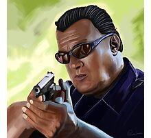 Steven Seagal Photographic Print
