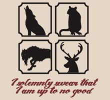 I solemnly swear that I am up to no good - The Marauders by LovelyOwls