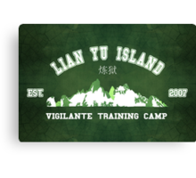 Vigilante Training Camp Canvas Print