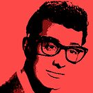 Buddy Holly by Crystal Potter