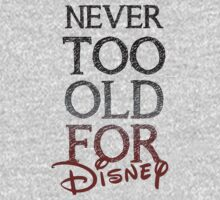 Never too old for Disney ~ Black & Red by sweetsisters