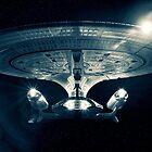 The Enterprise D - Star Trek The Next Generation. by Nick Egglington