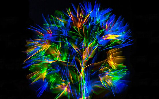 Glow stick fun by Doug Cliff