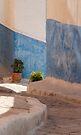 Street in Rabat Morocco by Debbie Pinard