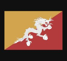 Bhutan Flag by cadellin