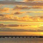 Jetty sunset by Anthony 'Bones' Dryden