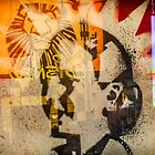 Evita And The Lion King by Michel Godts
