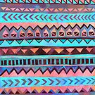 Zig Zag ipad case by Amber92