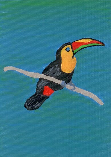 The Toucan by Melissa Vijay Bharwani