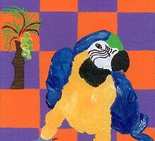 Pop Parrot by Melissa Vijay Bharwani