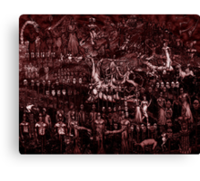 WELCOME TO HELL (red version) Canvas Print