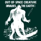 Out of space creature invades earth! by BungleThreads