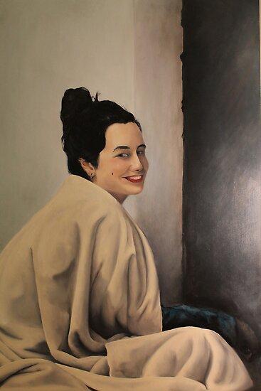 portrait of a friend  by LucasNovaes