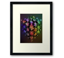 Geometry and abstract Framed Print