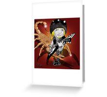 Michael Schenker Greeting Card