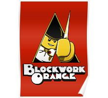 Blockwork Orange Poster