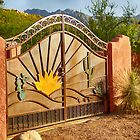 Sunny Gate by Judi FitzPatrick