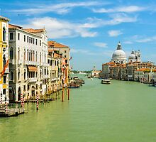 Grand Canal in Venice, Italy by Michael Abid