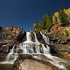 Full Moon, Gooseberry Falls by Michael Treloar