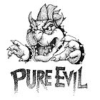 Pure Evil  by Anthony McCracken