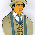 Doctor Who - Sylvester McCoy - Simpson-esque  by Donnahuntriss