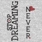 Never Stop Dreaming by amak