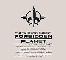 Forbidden Planet  by Glenn Slingsby