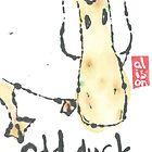 Odd duck, in yellow by Labontea