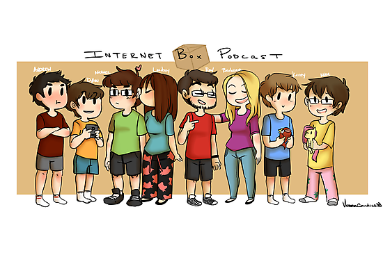Internet Box Crew :) by VictoriaCandies