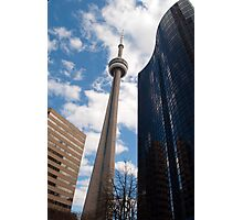 The CN Tower Tipping To The Right Photographic Print