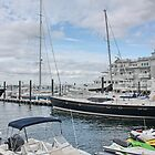 Harbour in New Bedford Massachusetts by AnnDixon