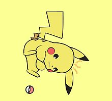 A Pikachu Is Not A Slave by brittanacedes