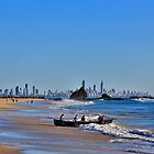 A view from Currumbin by Peter Dor