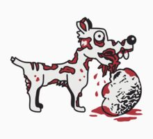 Zombie Dog Eats Brain by Style-O-Mat