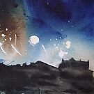 Edinburgh Festival Fireworks by Ross Macintyre