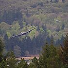 Dambusters 70 Years On - Flypast At The Derwent Dam - 6 by Colin J Williams Photography