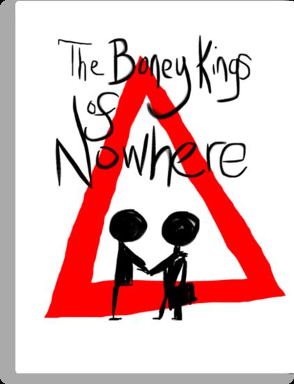 The Boney Kings of Nowhere Red Triangle by Aaran Bosansko
