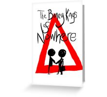 The Boney Kings of Nowhere Red Triangle Greeting Card