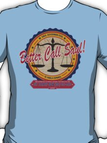 Breaking Bad Inspired - Better Call Saul - Albuquerque Attorney Parody T-Shirt