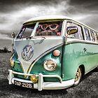 Classic VW Camper Van by Ian Hufton