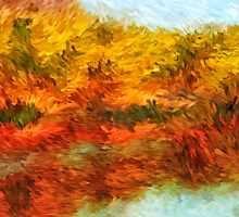 Autumn Lake Impressions by Doreen Erhardt