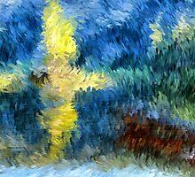 Summer Lake Impressions by Doreen Erhardt