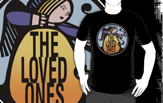 The Loved Ones original drumskin design 1965 by Kim  Lynch