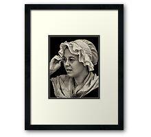 Bespectacled Framed Print