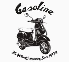 Gasoline Modern Scooter Illustration by GASOLINE DESIGN