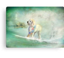 Lil' Surfer Dude Canvas Print