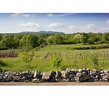 The Stone Fence Photographic Print