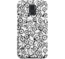 Pile of Black Bicycles Samsung Galaxy Case/Skin