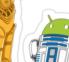 Droid in Disguise Sticker